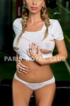 Busty escorts Paris lady Zoé, elite blonde GFE date
