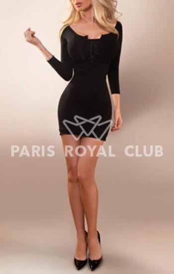 Paris blonde escorts lady Aurelia, busty GFE model