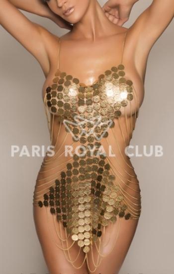 Exclusive Paris escorts lady Ilona, luxury supermodel companion